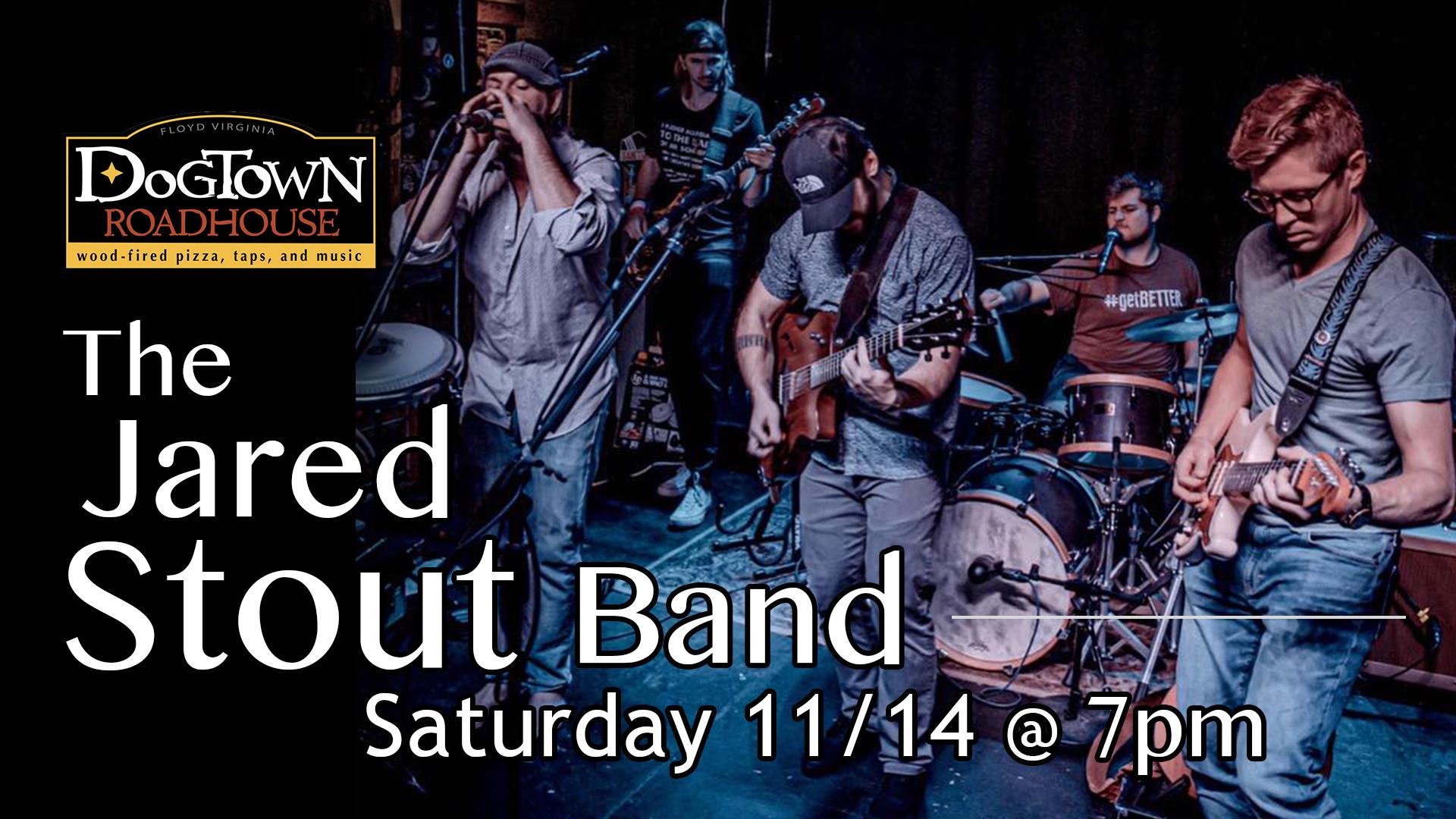 Jared Stout Band Dogtown Roadhouse