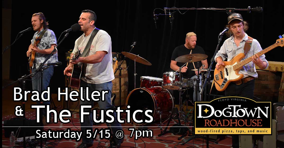 Brad Heller & The Fustics Live Band at Dogtown Roadhouse